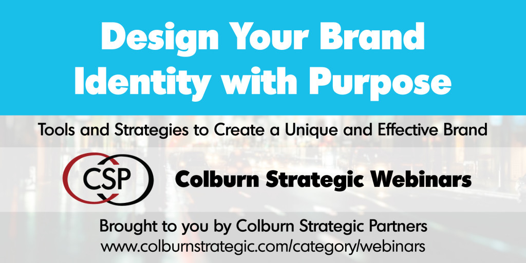 Design Your Brand Identity With Purpose- Free Webinar